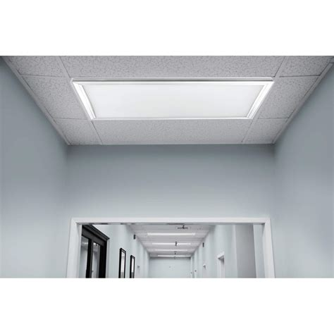 4250 lumen 4000k 2ft x 2ft led flat panel ceiling fixture