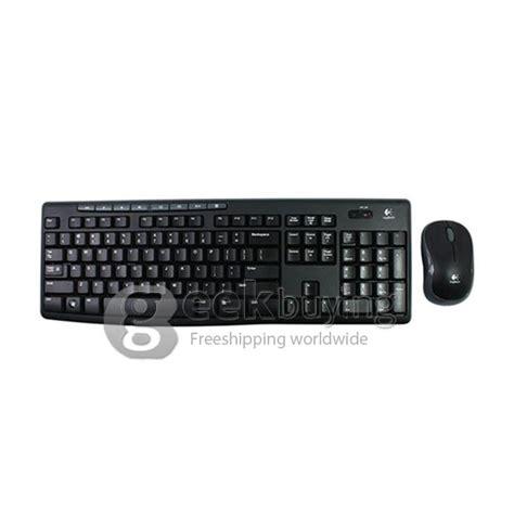 Mouse Logitech Standart logitech mk270 ergonomic 2 4 ghz wireless keyboard mouse combo