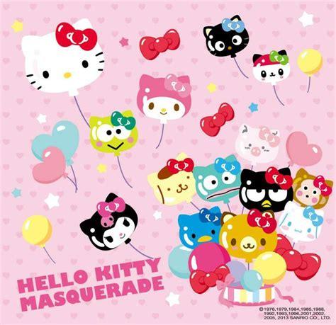 hello kitty character wallpaper sanrio hello kitty friends balloons hello kitty