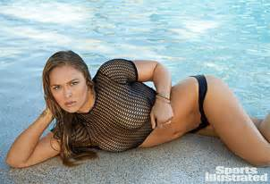 The Players Bench Crystal Lake Ronda Rousey Sports Illustrated Swimsuit Issue Gallery