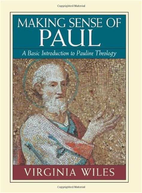 rediscovering paul an introduction to his world letters and theology books sense of paul a basic introduction to pauline