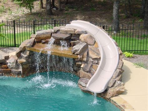 pool designs with slides 15 best ideas about pool slides on pinterest swimming