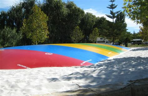 jumping pillows australia karrinyup waters resort gwelup the jumping pillow which