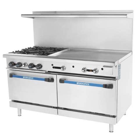 60 inch gas cooktop turbo air targ 4b36g 60 in 4 burner gas range etundra