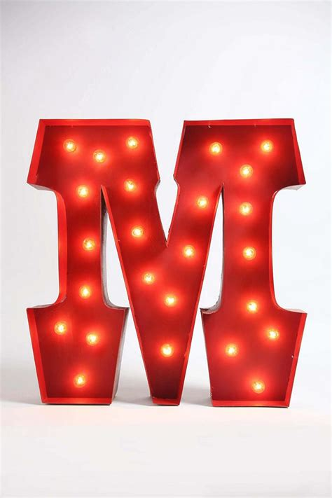 marque letters marquee alphabet light outfitters odds and ends