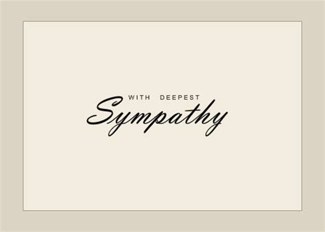 greeting card template sympathy free 7 best images of sympathy card free printable