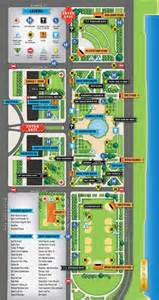 Grant Park Chicago Map by Pics Photos Grant Park Lollapalooza Map