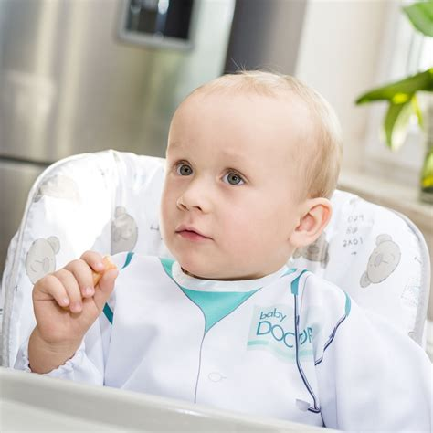 baby doctor bib with sleeves wholesale gadgets eu