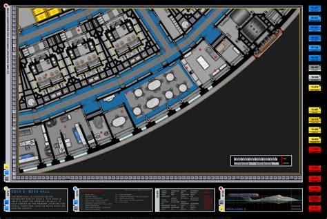 star trek enterprise floor plans enterprise nx 01 mess hall deck e star trek