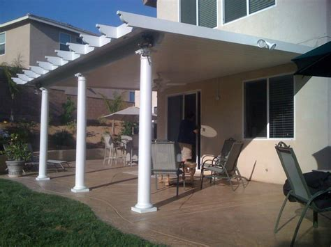 California Patio Covers by Solid Cover Alumawood Patio Cover Standard Freeform