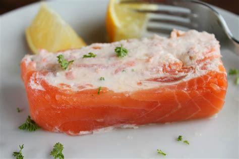 smoked salmon terrine recipe good food shared smoked salmon terrine with cream cheese