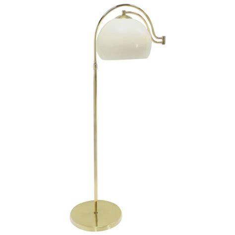 mid century globe floor l fully adjustable mid century modern brass base floor l