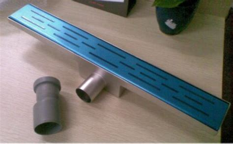 Fashion Quality 5509 Wall Shower Stainless Made In Taiwan a3 stainless steel shower channel drains floor drainer