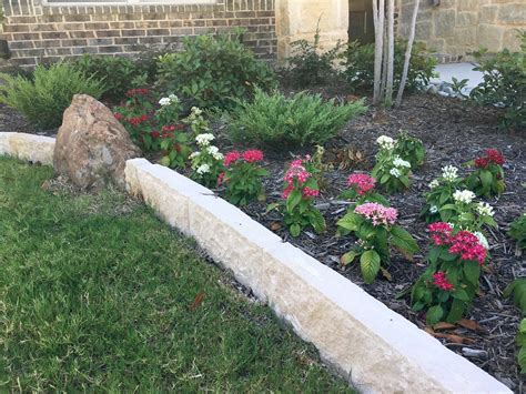 stone flower bed border uncategorized flower bed landscaping englishsurvivalkit