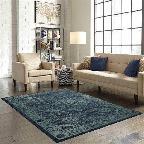 mainstays global arya nylon textured print area rug