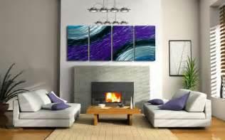 modern living room wall decor ridding your home of boring walls metal wall art of iron oak