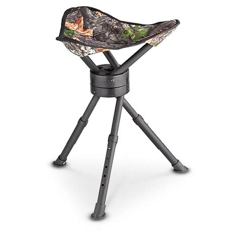 Tripod Chair by Guide Gear 174 Folding Tripod Swivel Stool 186989 Stools Chairs Seat Cushions At Sportsman S