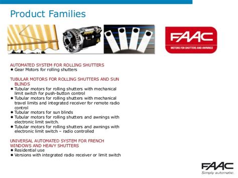 faac middle east corporate presentation