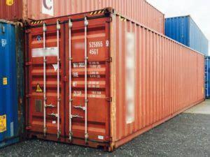 container aufstellen ohne baugenehmigung gebrauchte 40ft hc guter zustand