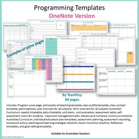 Programming Templates Onenote Cover Teaching Paperwork Pinterest Note Bullet And Planners Microsoft Journal Templates