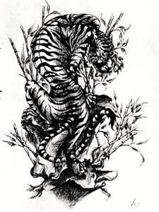 tatoo tiger by deikochan on deviantart