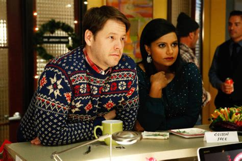 the mindy project recap christmas party sex trap