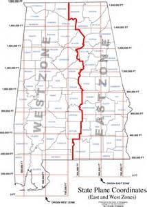 state plane coordinate system map alabama maps basemaps