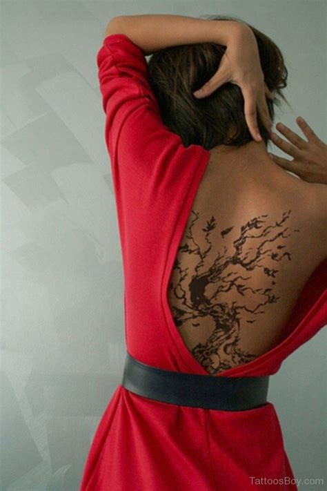 tree back tattoo designs tree tattoos designs pictures