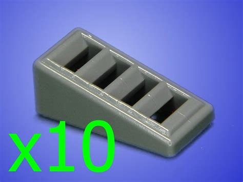 Termurah Lego Brick 1x2 Plate Grey White Green Many Colors Part 1 10 new blue gray lego 1x2 slope grills grille grates finishing tiles plates ebay