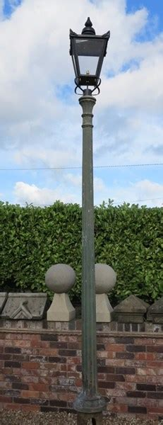 outdoor reclaimed antique cast iron lamp post lampost