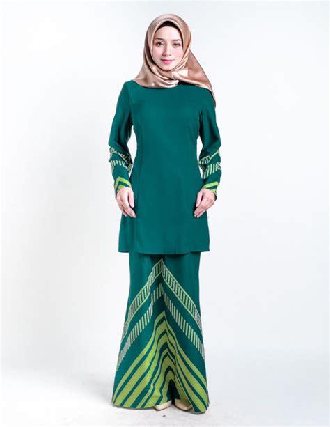 baju kurung moden yang simple baju kurung moden raakel green lovelysuri com