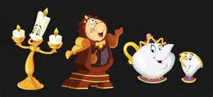 Horrific meat eating machines or lovable singing teapots the curse