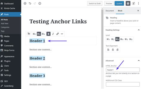 anchor link html how to create anchor links in 4 easy methods