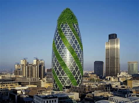 new carbon architecture building to cool the planet books s gherkin building goes green literally