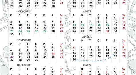 kalendars    calendar printable  holidays list