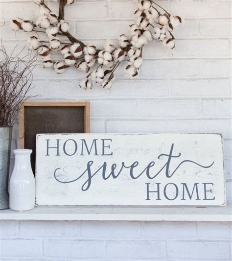 less house more home sign rustic sign home decor wood sign home sweet home rustic wood sign rustic wall decor