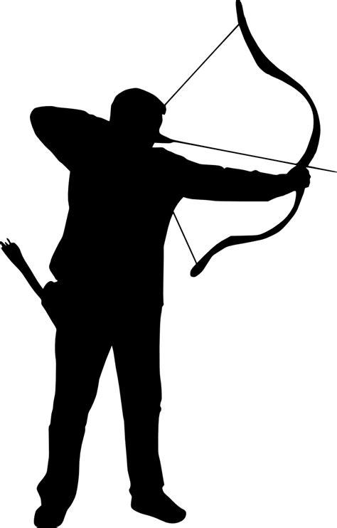 7 Archer Silhouette (PNG Transparent)   OnlyGFX.com