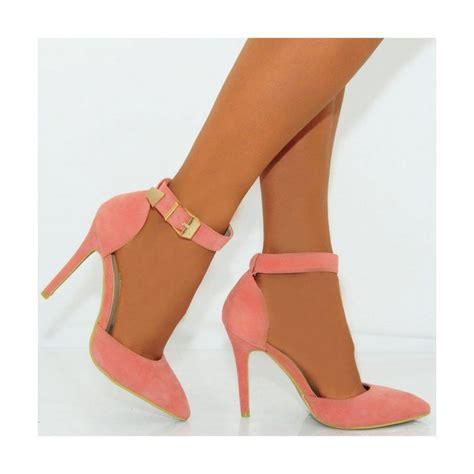 color heels coral pink heels fs heel