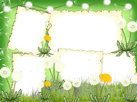 cornici html frames png nature frames