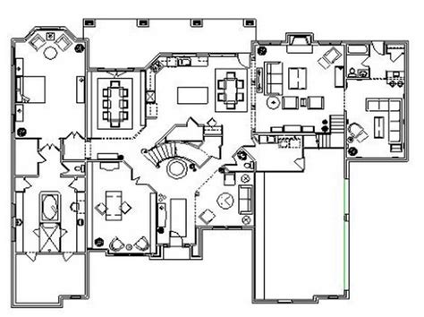 residential blueprints ideas residential floor plans designs with simple design