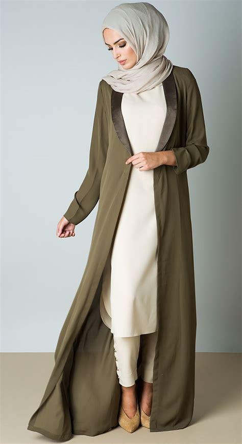 Moslem Wear Vest Khaki best 25 abaya fashion ideas on abayas modern