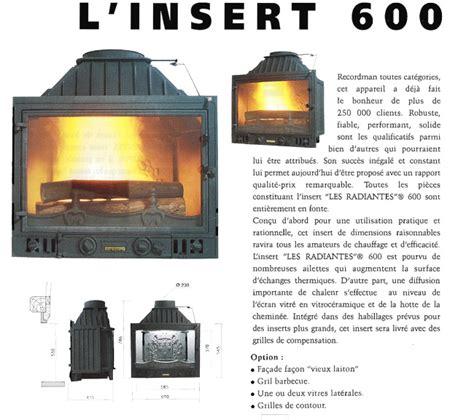 cheminee philippe insert cheminee philippe insert 600