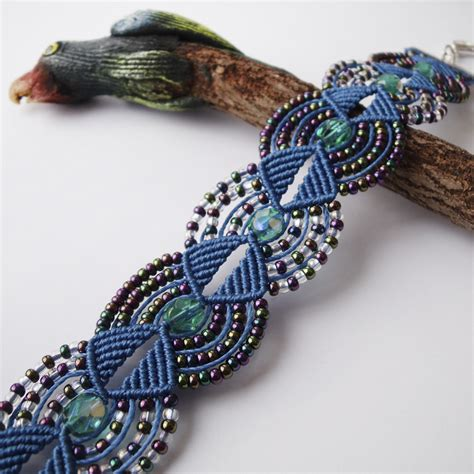 Pictures Of Macrame - macrame bracelet 17 by borysbrytva on deviantart