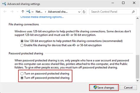 windows reset password share ways to turn off password protected sharing in windows 10