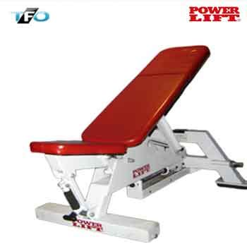 powerlift bench power lift adjustable bench total fitness outlet