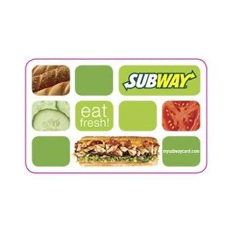 Subway Gift Card Free - living laughing saving saving subway gift card deal