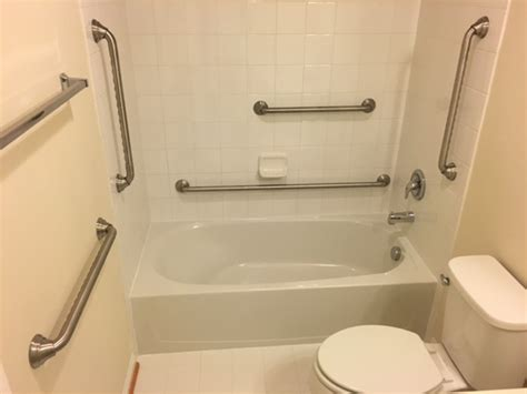 Bathtub Cl On Grab Bars by Bathroom Grab Bars Installation Cost