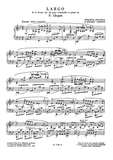 sonata section names cello sonata op 65 chopin fr 233 d 233 ric imslp petrucci