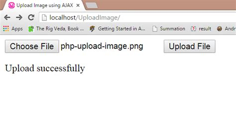 php tutorial to upload image php upload image tutorial using jquery ajax