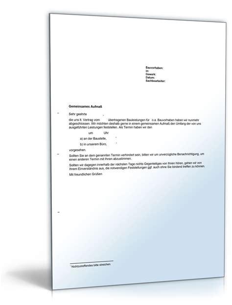 Musterbrief Kündigung Gemeinsamer Mietvertrag Aufforderung Zum Gemeinsamen Aufma 223 De Musterbrief